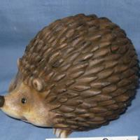 hedgehog standing deco